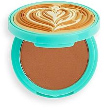 Parfums et Produits cosmétiques Poudre bronzante pour visage - I Heart Revolution Tasty Coffee Bronzer
