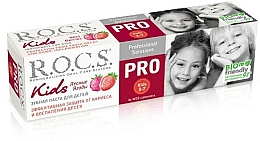 Parfums et Produits cosmétiques Dentifrice, Baies sauvages - R.O.C.S. PRO Kids
