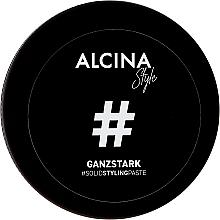 Parfums et Produits cosmétiques Pâte coiffante fixation forte - Alcina Style Ganzstark