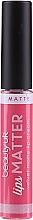 Parfums et Produits cosmétiques Rouge à lèvres mat - Beauty UK Lips Matter Velvet Matte Lip Cream