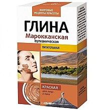 Parfums et Produits cosmétiques Argile rouge marocaine volcanique pour visage et corps - FitoKosmetik