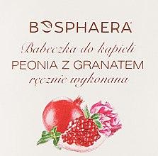 Parfums et Produits cosmétiques Bombe de bain Pivoine et grenade - Bosphaera
