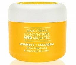 Parfums et Produits cosmétiques Crème concentré à la vitamine C et collagène pour visage, cou et décolleté - Dermo Pharma Cream Skin Archi-Tec Vitamin C + Kolagen