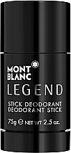 Parfums et Produits cosmétiques Montblanc Legend Stick - Déodorant stick parfumé