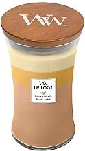 Parfums et Produits cosmétiques Bougie parfumée en jare Délices dorés - Woodwick Hourglass Candle Trilogy Golden Treats
