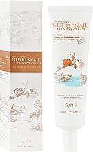 Parfums et Produits cosmétiques Crème au mucus d'escargot pour contour des yeux - Esfolio Nutri Snail Daily Eye Cream