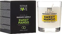 Parfums et Produits cosmétiques Bougie de massage naturel Mangue douce - Sezmar Collection
