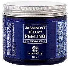 Parfums et Produits cosmétiques Gommage au sel et au jasmin pour le corps - Renovality Original Series Jasmine Body Peeling