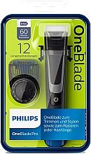 Parfums et Produits cosmétiques Tondeuse à barbe coiffante - Philips OneBlade Pro QP6510/20