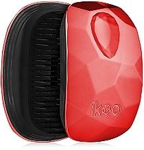 Parfums et Produits cosmétiques Brosse à cheveux compacte - Ikoo Pocket Black Dragon Lady
