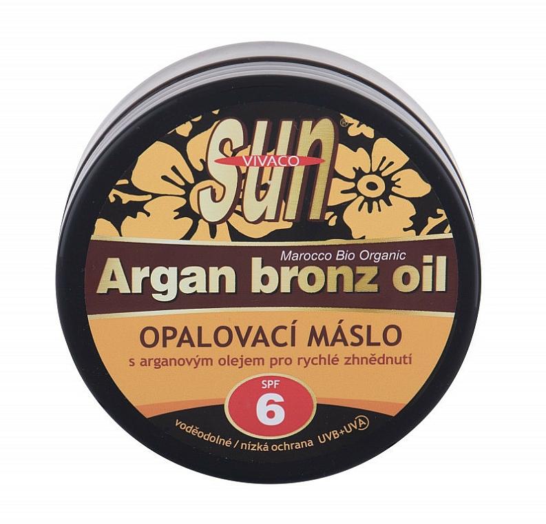 Huile de bronzage - Vivaco Sun Argan Bronz Oil SPF 6 — Photo N1