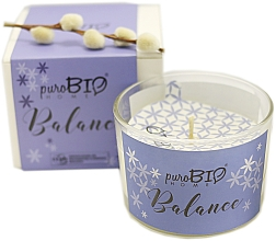 Bougie parfumée bio, Équilibre - PuroBio Home Organic Balance — Photo N2
