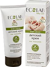 Parfums et Produits cosmétiques Crème pour la change à l'extrait de sauge et amande - ECO Laboratorie Baby Cream