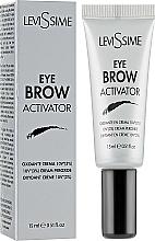 Parfums et Produits cosmétiques Oxydant en crème pour coloration des sourcils, 3% - LeviSsime Eye Brow Activator