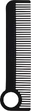 Parfums et Produits cosmétiques Peigne à cheveux, noir - Chicago Comb Co CHICA-1-CF Model № 1 Carbon Fiber