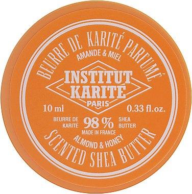 Beurre de karité parfumé amande et miel, 98% - Institut Karite Almond Honey Scented Shea Butter