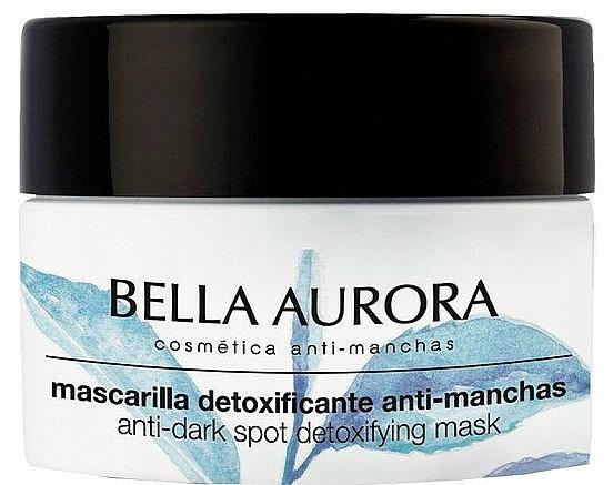 Masque à l'argile verte et thé matcha pour visage - Bella Aurora Anti-Dark Spot Detoxifying Mask — Photo N2