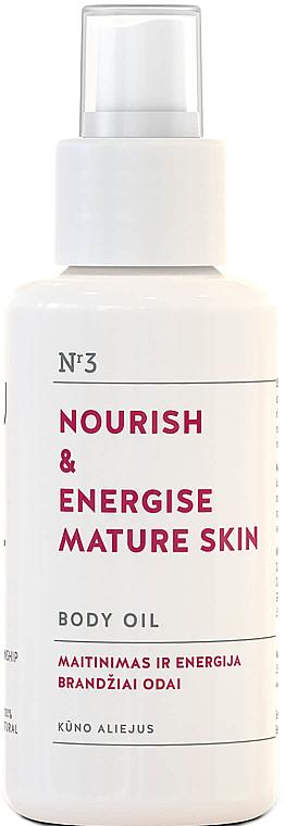 Huile régénérante pour corps, peaux matures - You & Oil Nourish & Energise Body Oil — Photo N1