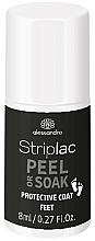 Parfums et Produits cosmétiques Vernis à ongles - Alessandro International Striplac Peel or Soak Protective Coat Feet