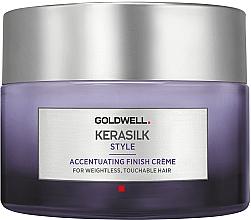 Parfums et Produits cosmétiques Crème de finition à la kératine pour cheveux - Goldwell Kerasilk Accentuating Finish Creme