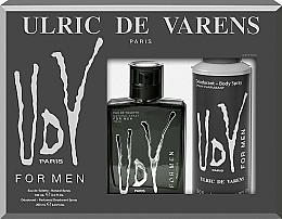 Parfums et Produits cosmétiques Ulric de Varens UDV - Set (eau de toilette/100ml + déodorant spray/200ml)