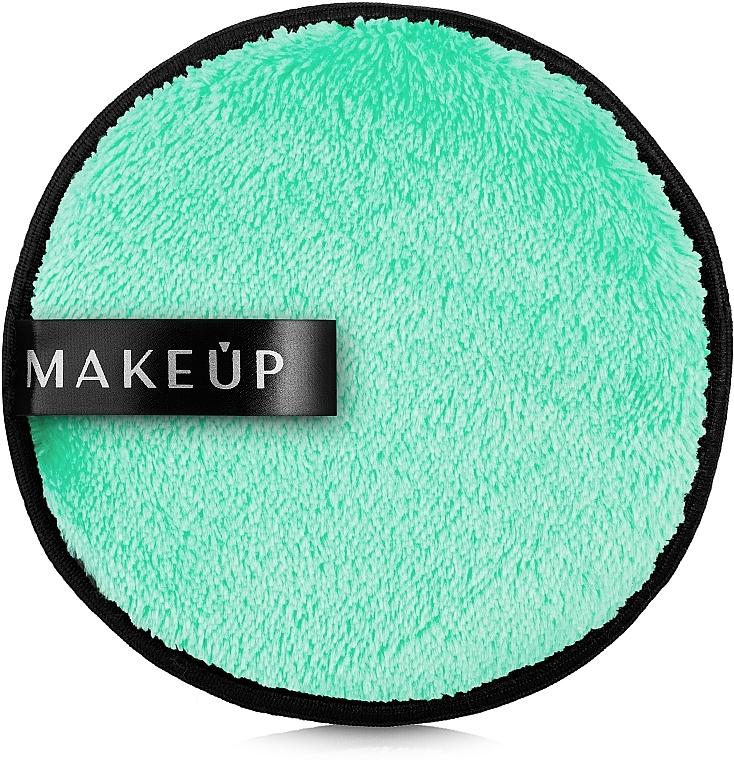 Éponge nettoyante et démaquillante, couleur menthe - MakeUp Makeup Cleansing Sponge Mint