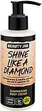 Parfums et Produits cosmétiques Crème scintillante à l'extrait de grenade et vanille pour corps - Beauty Jar Shimmering Body Cream