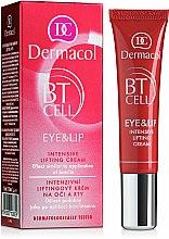 Parfums et Produits cosmétiques Crème liftante intensive pour contour des yeux et lèvres - Dermacol BT Cell Eye&Lip Intensive Lifting Cream