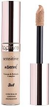 Parfums et Produits cosmétiques Correcteur liquide pour visage - TopFace Sensitive Mineral 3 in 1 Concealer