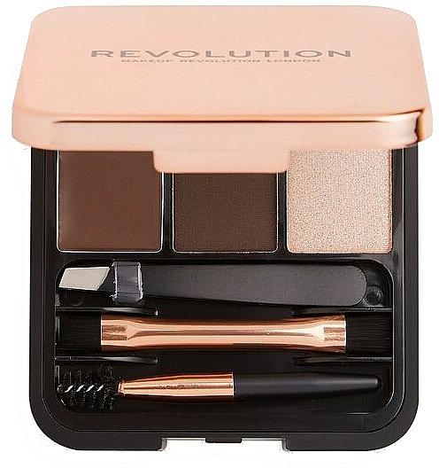 Palette sourcils - Makeup Revolution Brow Sculpt Kit