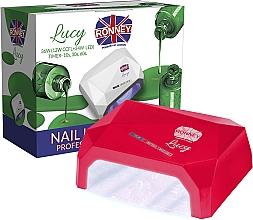 Parfums et Produits cosmétiques Lampe CCFL + LED, rouge - Ronney Profesional Lucy CCFL + LED 38W (GY-LCL-021) Lamp