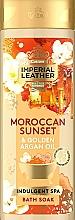 Parfums et Produits cosmétiques Mousse de bain à l'huile d'argan - PZ Cussons Imperial Leather Moroccan Sunset Bubble Bath Cream