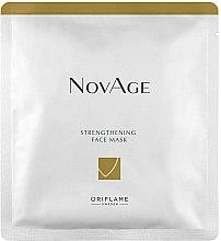 Parfums et Produits cosmétiques Masque tissu renforçant pour visage - Oriflame NovAge Strengthening Face Mask