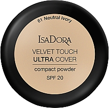 Parfums et Produits cosmétiques Poudre compacte pour visage - IsaDora Velvet Touch Ultra Cover Compact Powder SPF 20