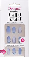 Parfums et Produits cosmétiques Kit de faux ongles avec colle, 3078 - Donegal Express Your Beauty