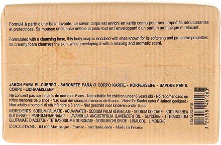 Savon au beurre de karité et lavande - L'occitane Shea Butter Extra Gentle Soap-Lavender — Photo N5