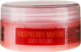 Parfums et Produits cosmétiques Gommage corporel naturel à base de sel de mer et cupcake framboise - Stani Chef's Raspberry Muffin Body Peeling