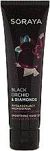Parfums et Produits cosmétiques Crème lissante aux protéines de soie pour mains - Soraya Black Orchid & Diamonds Smoothing Hand Cream