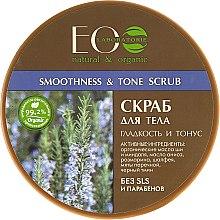 Parfums et Produits cosmétiques Gommage tonifiant à l'huile d'anis et romarin pour corps - ECO Laboratorie Natural & Organic Smoothness & Tonus Scrub