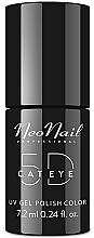 Parfums et Produits cosmétiques Vernis semi-permanent Cat Eye 5D - NeoNail Professional Cat Eye 5D Uv Gel Polish