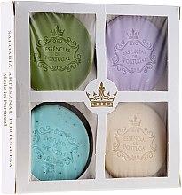 Parfums et Produits cosmétiques Set de savons naturels - Essencias De Portugal Senses Natural (savon/4x50g)