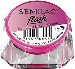 Parfums et Produits cosmétiques Poudre pour ongles - Semilac Flash Sunlight Effect