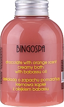 Parfums et Produits cosmétiques Crème de douche au chocolat et orange - BingoSpa Creamy Chocolate Bath With Orange Oil