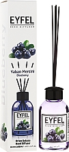 Parfums et Produits cosmétiques Bâtonnets parfumés Myrtille - Eyfel Perfume Reed Diffuser Blueberry