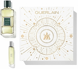 Parfums et Produits cosmétiques Guerlain Vetiver - Coffret (eau de toilette/100ml + eau de toilette/15ml)