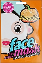 Parfums et Produits cosmétiques Masque à l'extrait de citrouille pour visage - Bling Pop Pumpkin Smoothing & Brightening Mask