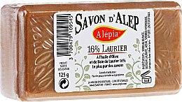 Parfums et Produits cosmétiques Savon d'Alep à l'huile d'olive et de baie de laurier 16% - Alepia Soap 16% Laurel