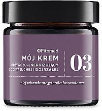 Parfums et Produits cosmétiques Crème à l'huile de pépins de raisin pour visage - Fitomed Cream With Vitamin Oil Nr3
