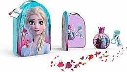 Parfums et Produits cosmétiques Disney Frozen II - Coffret (eau de toilette/100ml + gloss à lèvres/6ml + sac)