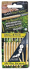 Parfums et Produits cosmétiques Kit brossettes interdentaires en bambou, 8pcs - Woobamboo Toothbrush Interdental Brush Picks Small